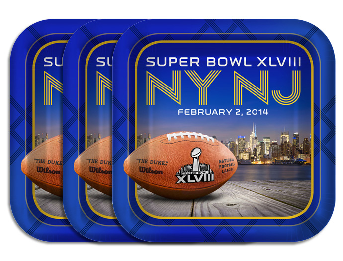 Super bowl party supplies xlviii football tailgate party for Super bowl party items