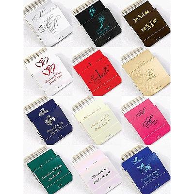 Wedding Matchbooks Personalized Wedding Matches Wedding Favors